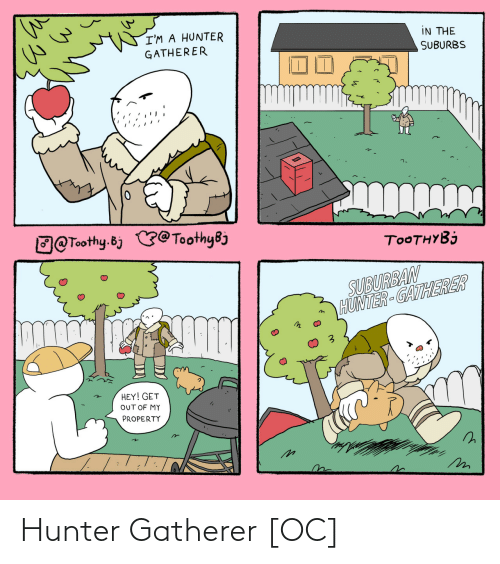 hunter: Hunter Gatherer [OC]