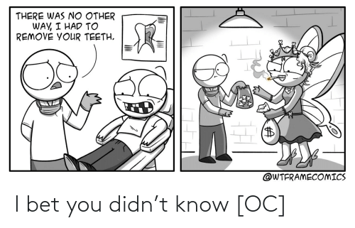 know: I bet you didn't know [OC]
