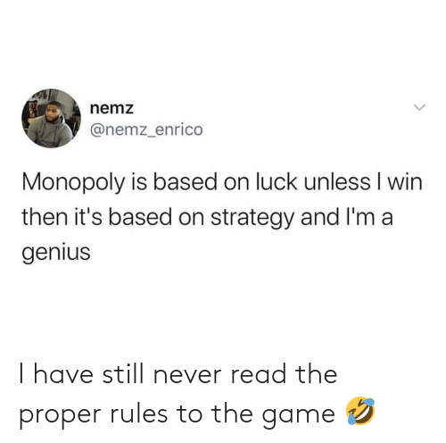 The Game: I have still never read the proper rules to the game 🤣