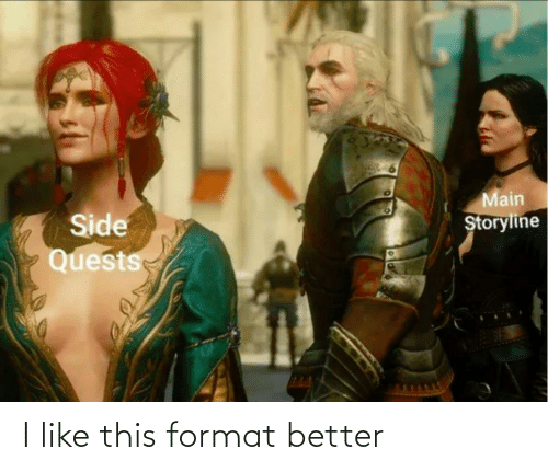 this: I like this format better