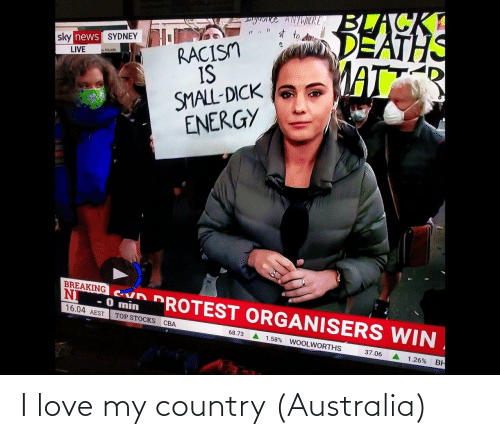 I Love: I love my country (Australia)
