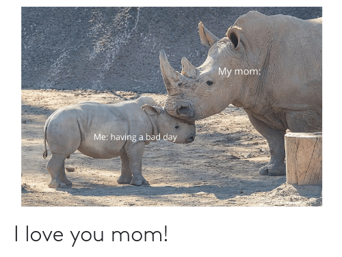 i love you mom: I love you mom!