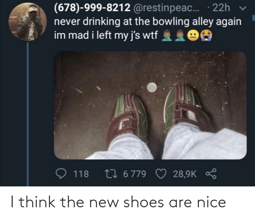 Are: I think the new shoes are nice