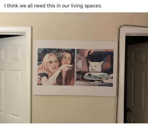 Living, Spaces, and Think: I think we all need this in our living spaces.