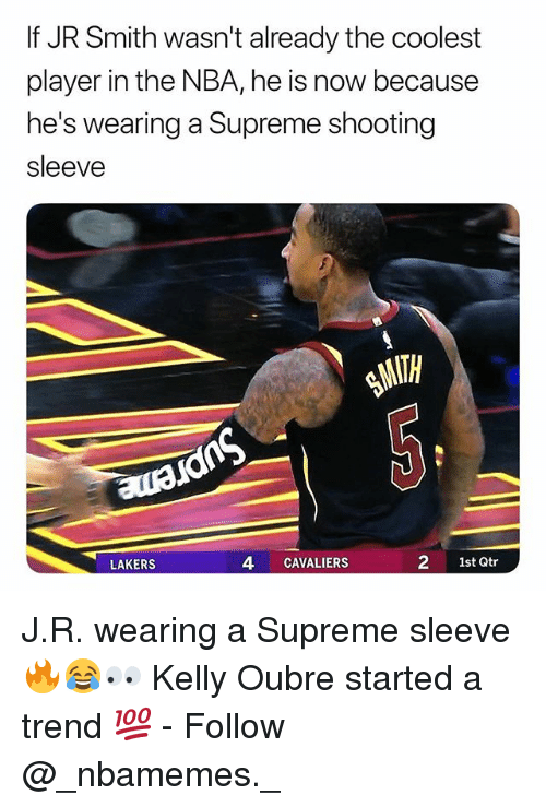 If Jr Smith Wasn T Already The Coolest Player In The Nba He Is Now