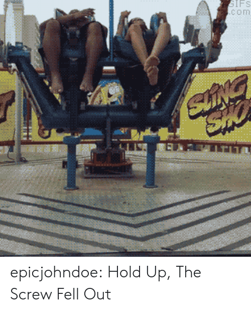 Tumblr, Blog, and Com: IFS  com epicjohndoe:  Hold Up, The Screw Fell Out