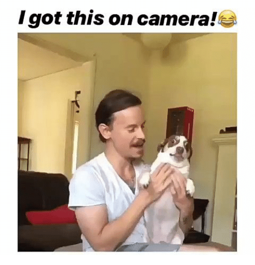 Camera and This: Igot this on camera!