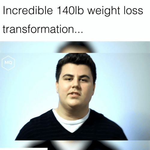 Weight Loss, Incredible, and  Transformation: Incredible 140lb weight loss  transformation...  MQ