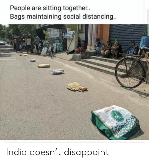 disappoint: India doesn't disappoint