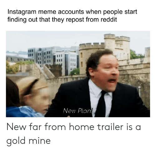 Instagram Meme Accounts When People Start Finding Out That They