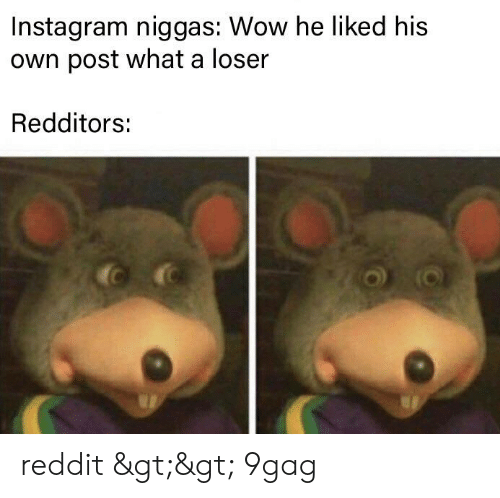 Instagram Niggas Wow He Liked His Vn Post What a Loser