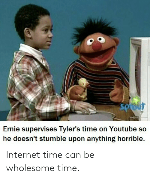 Can Be: Internet time can be wholesome time.
