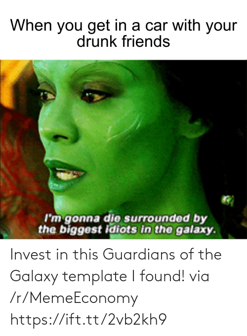 Guardians: Invest in this Guardians of the Galaxy template I found! via /r/MemeEconomy https://ift.tt/2vb2kh9
