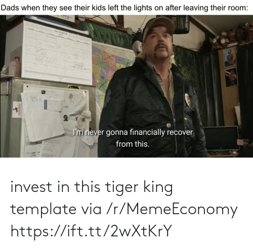 template: invest in this tiger king template via /r/MemeEconomy https://ift.tt/2wXtKrY