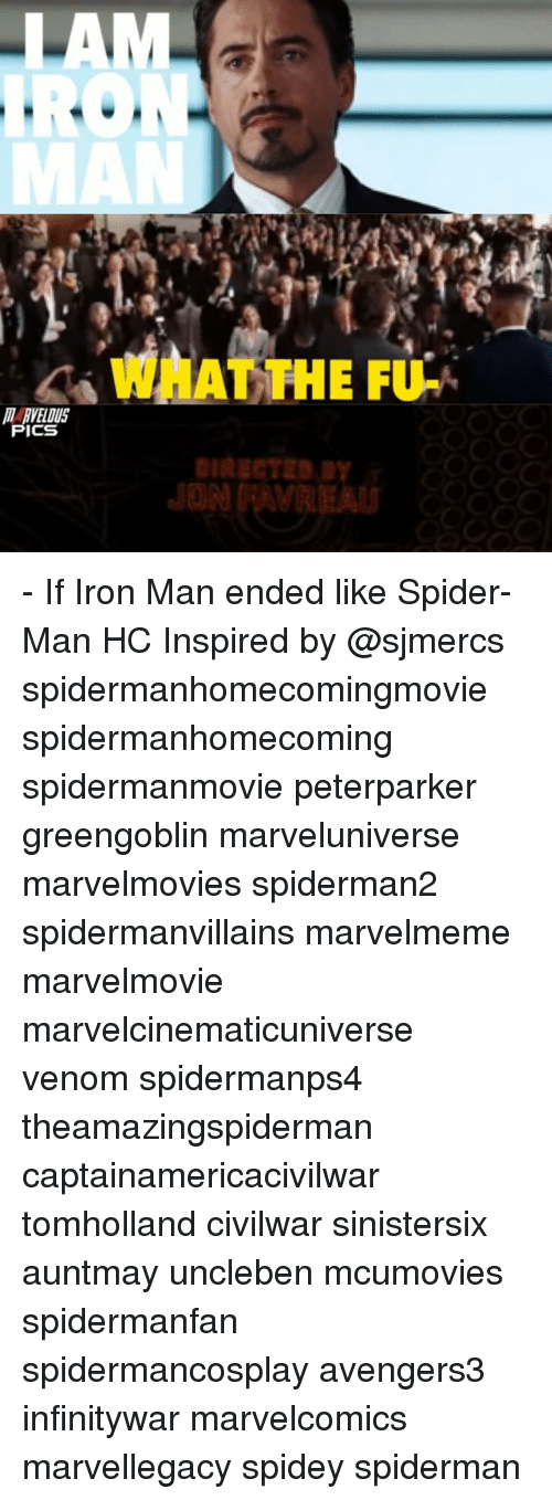 Ðÿ†: IRO  WHAT THE FU-  ICS  Dy - If Iron Man ended like Spider-Man HC Inspired by @sjmercs spidermanhomecomingmovie spidermanhomecoming spidermanmovie peterparker greengoblin marveluniverse marvelmovies spiderman2 spidermanvillains marvelmeme marvelmovie marvelcinematicuniverse venom spidermanps4 theamazingspiderman captainamericacivilwar tomholland civilwar sinistersix auntmay uncleben mcumovies spidermanfan spidermancosplay avengers3 infinitywar marvelcomics marvellegacy spidey spiderman