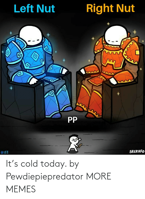 Cold: It's cold today. by Pewdiepiepredator MORE MEMES