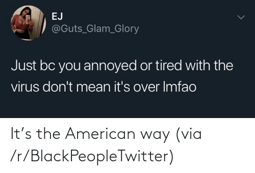 blackpeopletwitter: It's the American way (via /r/BlackPeopleTwitter)