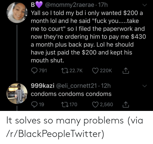 R: It solves so many problems (via /r/BlackPeopleTwitter)