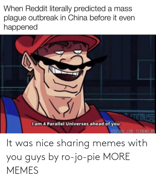 More Memes: It was nice sharing memes with you guys by ro-jo-pie MORE MEMES