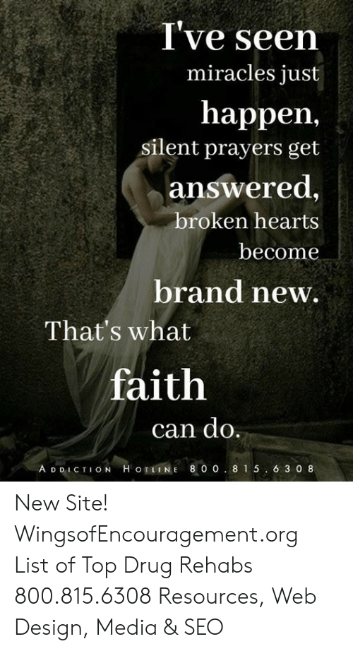 I've Seen Happen Answered Miracles Just Silent Prayers Get