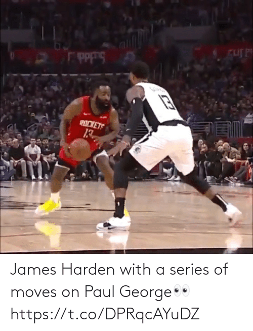 james: James Harden with a series of moves on Paul George👀 https://t.co/DPRqcAYuDZ