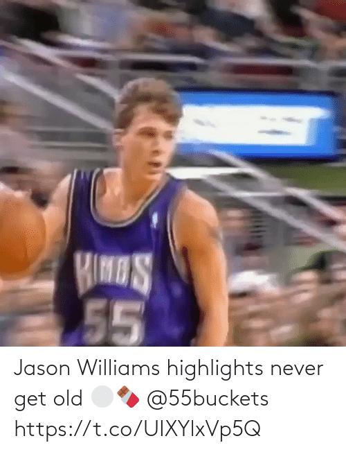 White People: Jason Williams highlights never get old ⚪️🍫 @55buckets https://t.co/UIXYlxVp5Q