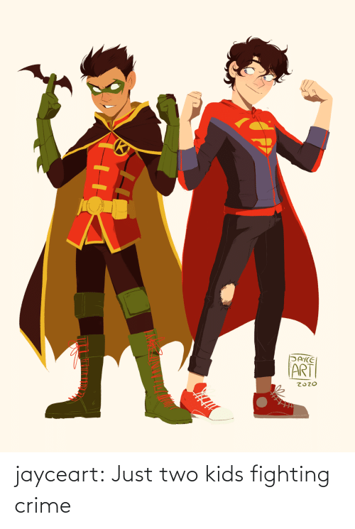 just: jayceart:  Just two kids fighting crime