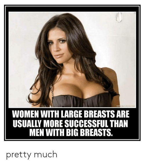 What causes large breasts