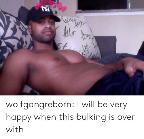 Tumblr, Blog, and Happy: Jete  hrere wolfgangreborn: I will be very happy when this bulking is over with