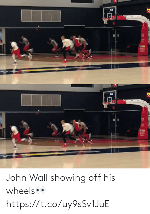His: John Wall showing off his wheels👀 https://t.co/uy9sSv1JuE