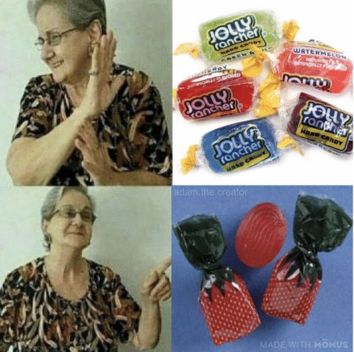 jolly: JOLLY  rancher  HARD CRoy  GREENA  WATERMELON  NRTURACLY  RTIFICALLY FO  GERRY  ARTIFICIALLY FLgvORED  ప్ర  rancher  ranther  HARD CANDY  rancher  MARD CARDY  JOLL  adam.the.creator  MADE WITH MOMUS