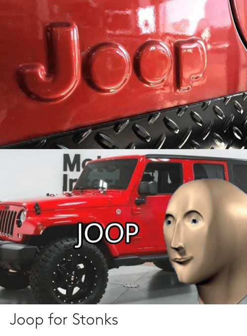 Stonks: Joop for Stonks