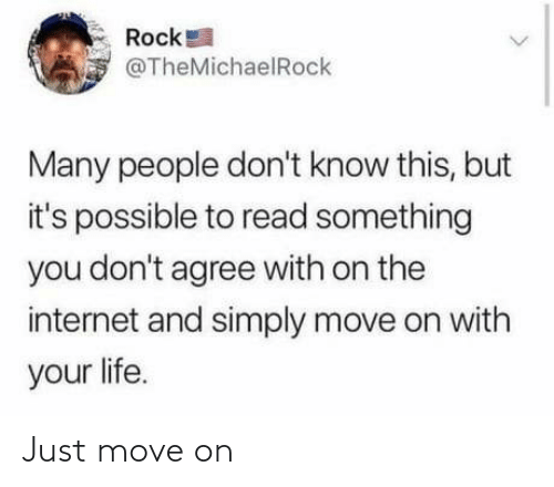 just: Just move on