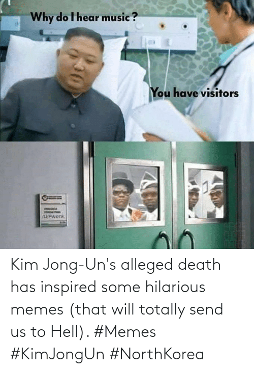 Death: Kim Jong-Un's alleged death has inspired some hilarious memes (that will totally send us to Hell). #Memes #KimJongUn #NorthKorea