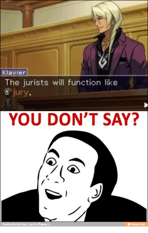 25 Best Memes About Ema Skye Ace Attorney Ema Skye Ace