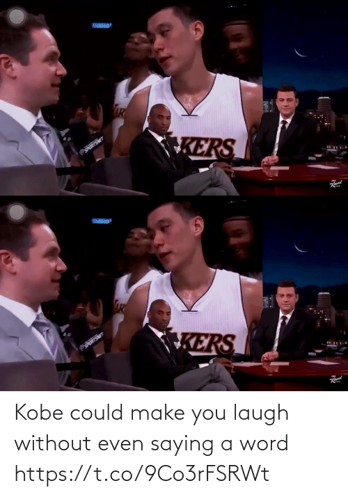 You Laugh: Kobe could make you laugh without even saying a word https://t.co/9Co3rFSRWt
