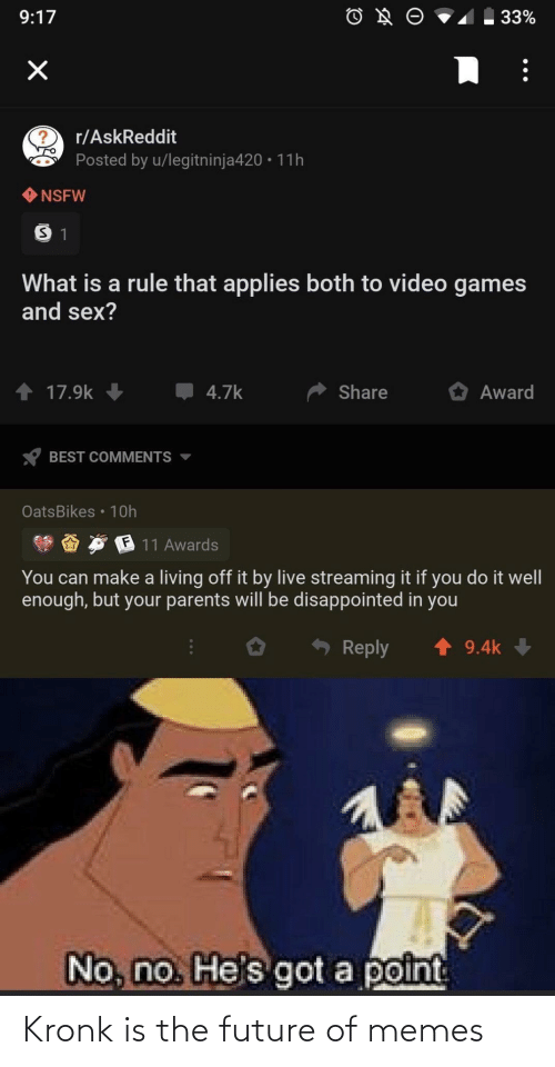 The: Kronk is the future of memes