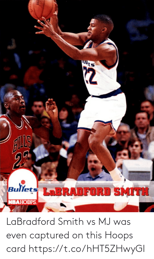Smith: LaBradford Smith vs MJ was even captured on this Hoops card https://t.co/hHT5ZHwyGI