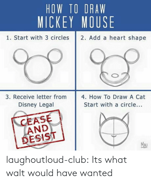 wanted: laughoutloud-club:  Its what walt would have wanted