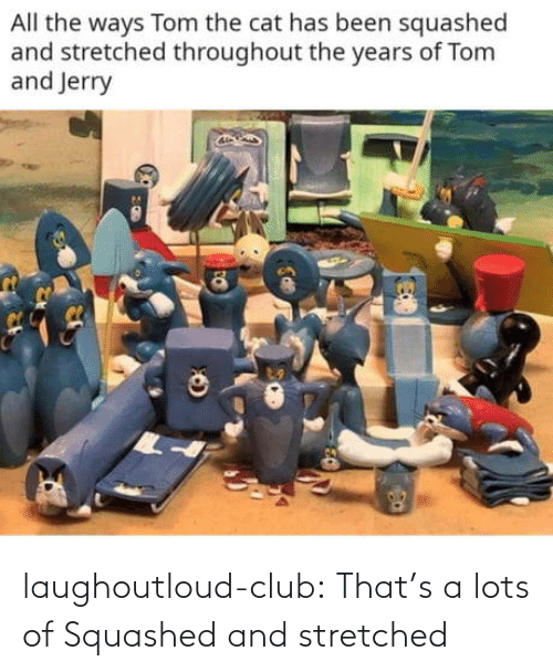 club: laughoutloud-club:  That's a lots of Squashed and stretched