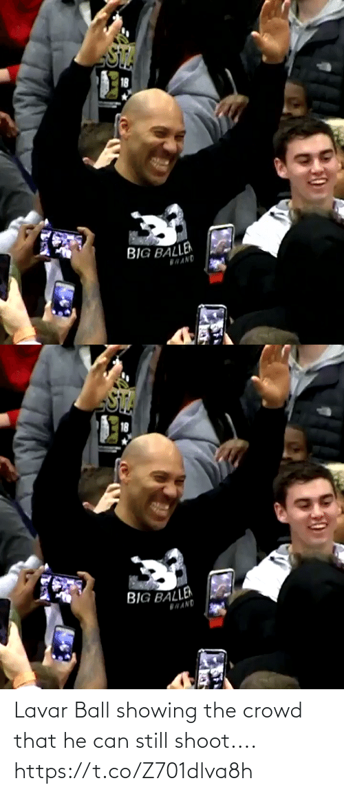 can: Lavar Ball showing the crowd that he can still shoot.... https://t.co/Z701dlva8h