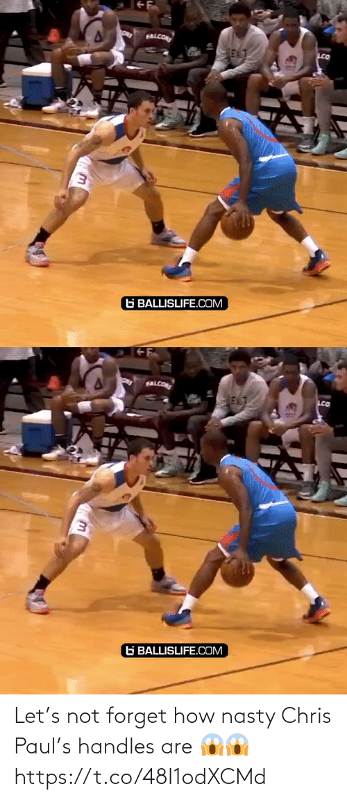 Chris Paul: Let's not forget how nasty Chris Paul's handles are 😱😱 https://t.co/48I1odXCMd