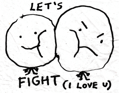 Love, Fight, and Let's: LET'S  FIGHT (I LOVE