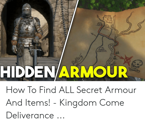 Lewho O HIDDENARMOUR How to Find ALL Secret Armour and Items