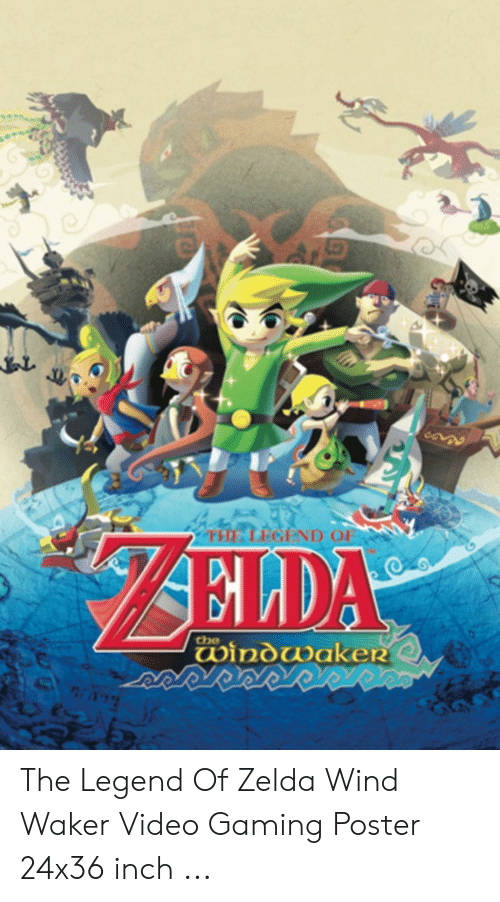 🐣 25+ Best Memes About the Legend of Zelda Wind Waker | the Legend