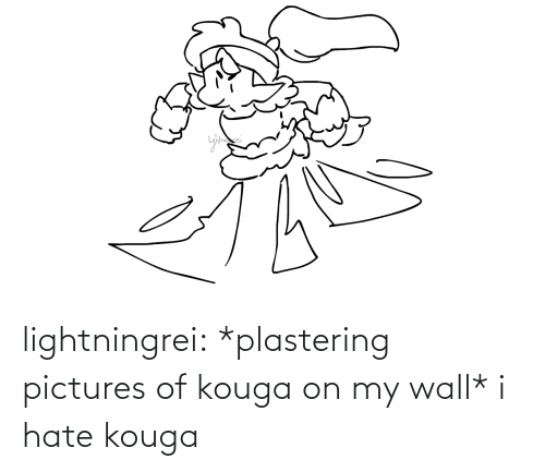 hate: lightningrei:  *plastering pictures of kouga on my wall* i hate kouga