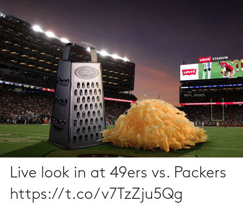 Live: Live look in at 49ers vs. Packers https://t.co/v7TzZju5Qg