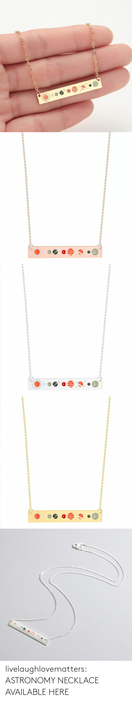 gif: livelaughlovematters:  ASTRONOMY NECKLACE AVAILABLE HERE