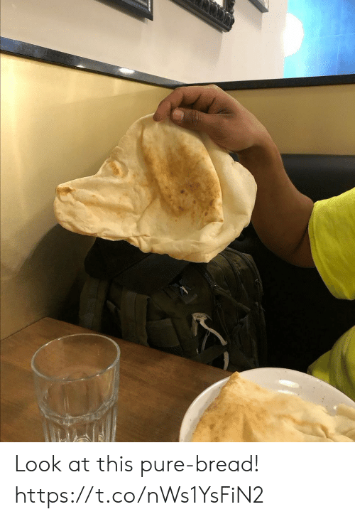 pure: Look at this pure-bread! https://t.co/nWs1YsFiN2