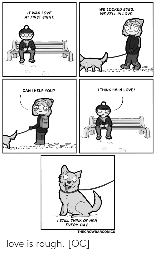 Love Is: love is rough. [OC]